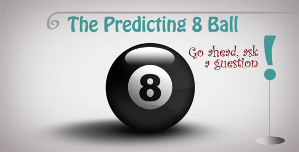 After Effects Project - VideoHive The Predicting 8 Ball 3173320