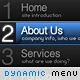 Dynamic Flash-XML Menu - ActiveDen Item for Sale
