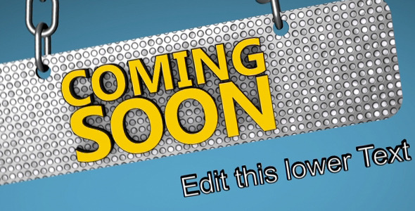 VideoHive Coming Soon Under Construction 3150628