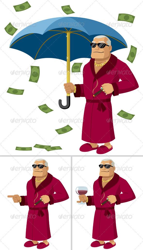 GraphicRiver Rich Man 411210