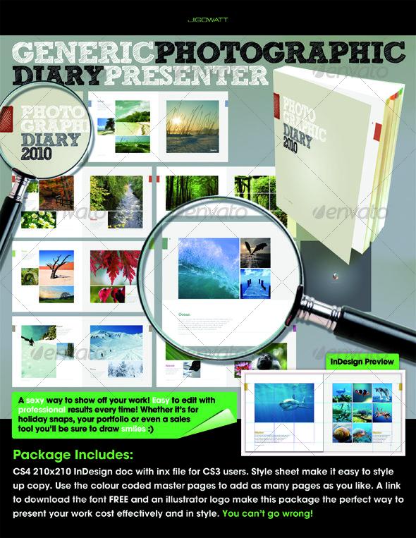 GraphicRiver Photographic Diary 112147