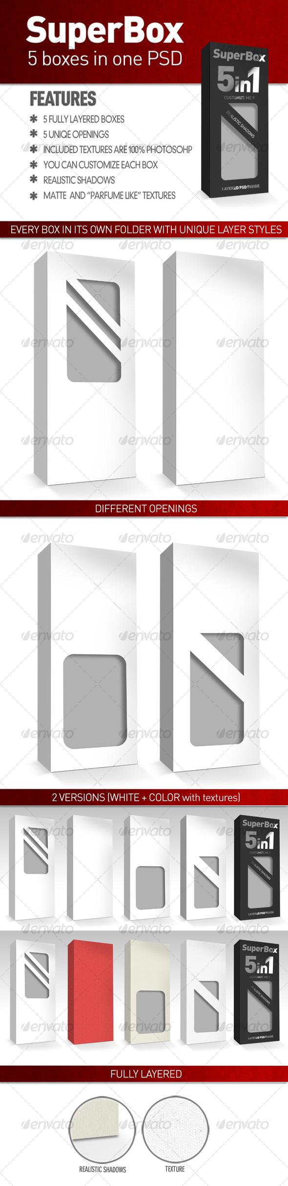 GraphicRiver SuperBox 5 in 1 112153