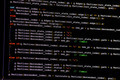 C++ Code on Monitor (Closeup, Deep Black) - PhotoDune Item for Sale
