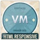 Vintage Immersed - Multipurpose HTML Template - ThemeForest Item for Sale