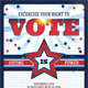 Vote 8.5x11 & Mailer Template - GraphicRiver Item for Sale