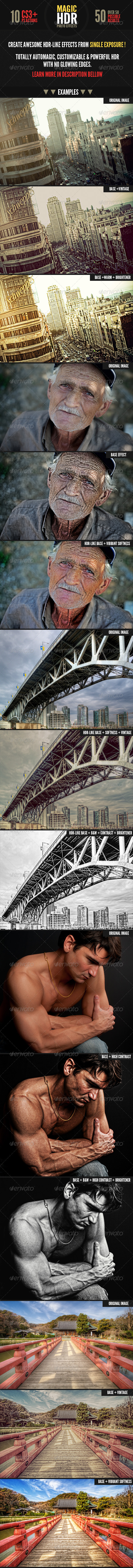 GraphicRiver Magic HDR Photohosp Actions 3180617