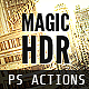 Magic HDR Photohosp Actions - GraphicRiver Item for Sale
