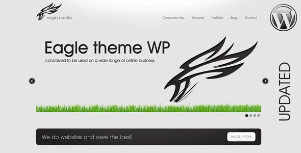 ThemeForest Eagle Theme Wordpress Version 92457