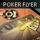 Poker Night Flyer Template 4 x 6 - GraphicRiver Item for Sale