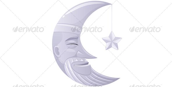 GraphicRiver Moon 112359