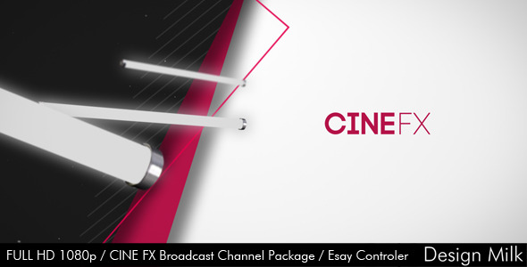 After Effects Project - VideoHive Cine FX Broadcast Channel Package 3025380