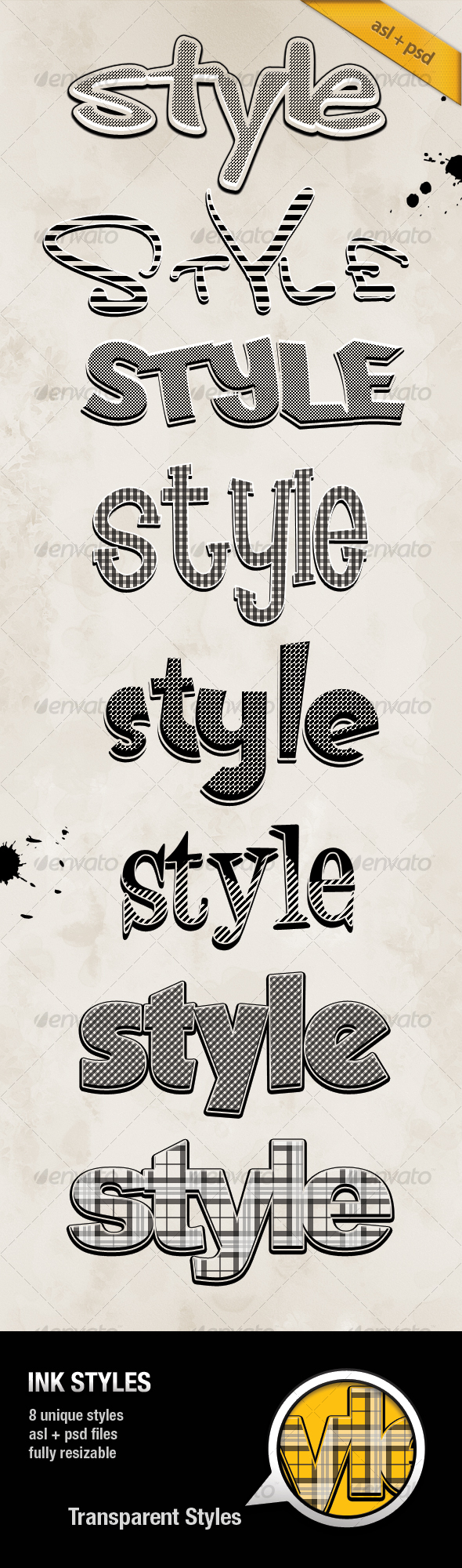 GraphicRiver INK Styles 110701