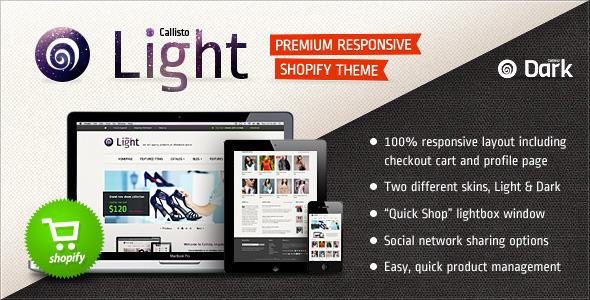 ThemeForest Callisto for Shopify Premium Responsive Theme eCommerce Shopify Fashion 3046802