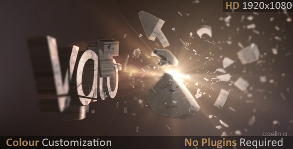 After Effects Project - VideoHive Shatterize 3187774