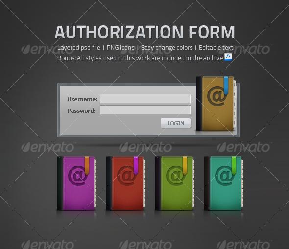 GraphicRiver Authorization Form 112474