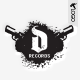 Record Label Logo Template - GraphicRiver Item for Sale