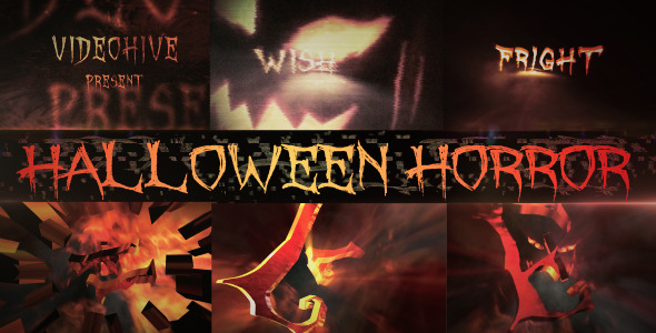 After Effects Project - VideoHive Halloween Horror 3195426