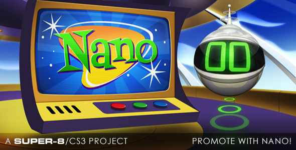 After Effects Project - VideoHive Promote with Nano 3196230