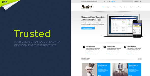 PSD Templates – Trusted PSD Templates | ThemeForest