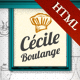 Cecile Boulange HTML - Bakery, Restaurant, Cafe - ThemeForest Item for Sale
