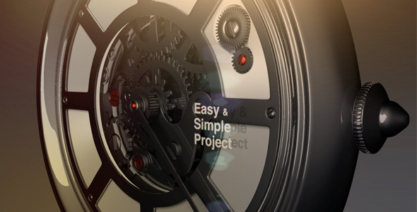 VideoHive Clock Gear 3181971