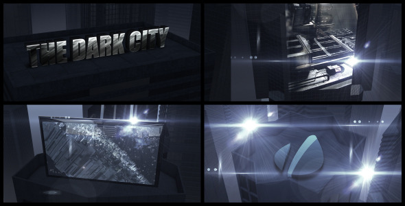 After Effects Project - VideoHive The Dark City 2887432