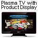 Plasma TV with 3D product Display - GraphicRiver Item for Sale