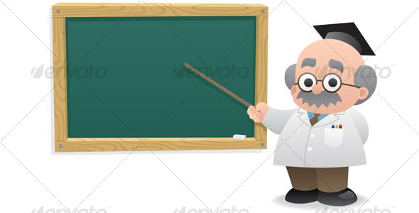 GraphicRiver Professor & Blackboard 113232