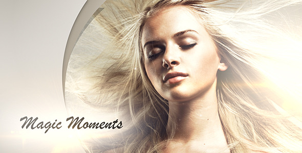 After Effects Project - VideoHive Magic Momments 3215437