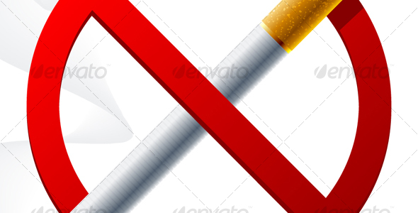 GraphicRiver No smoking sign 100500