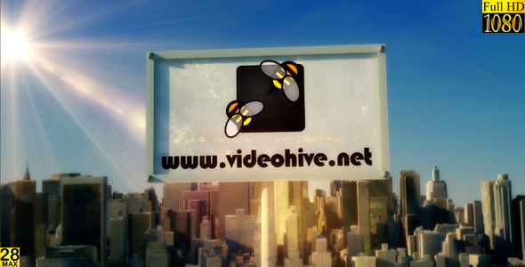 After Effects Project - VideoHive Sunrise Big City logo AE Projec 3216731