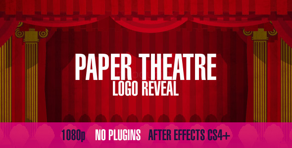 After Effects Project - VideoHive Paper Theatre Logo Reveal 3216733