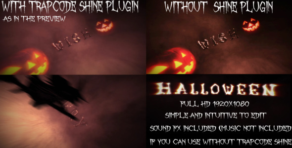 After Effects Project - VideoHive Cinematic Opening Halloween Version 32179 ...