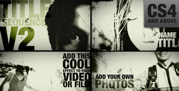 After Effects Project - VideoHive Trailer Title Sequence V2 3220090