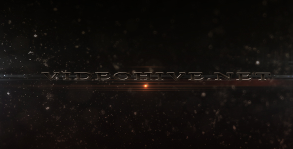 After Effects Project - VideoHive Dark sci-fi trailer 111803
