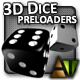 3D Dice Preloaders - ActiveDen Item for Sale