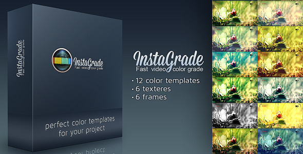 VideoHive InstaGrade Color Correction Template 3226036