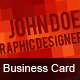 Pixel Business Card - GraphicRiver Item for Sale