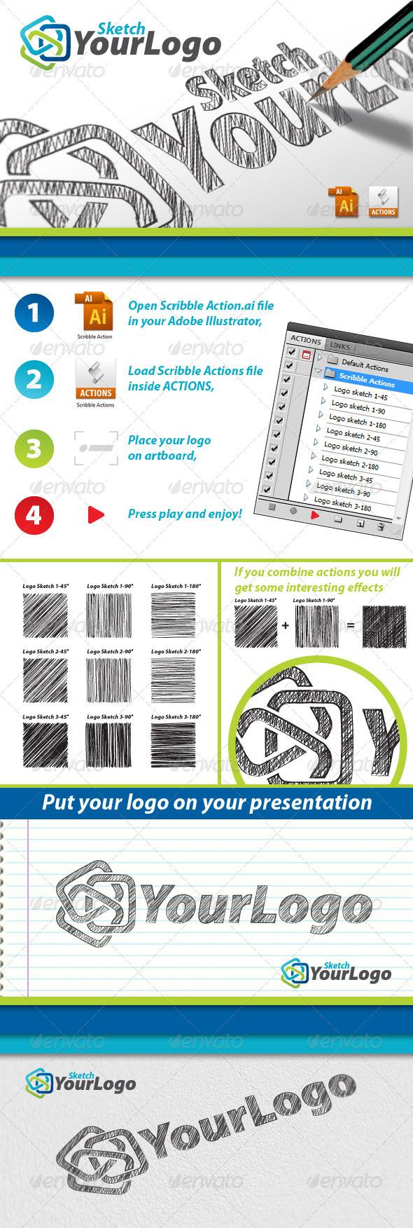 GraphicRiver Sketch Your Logo 3228310