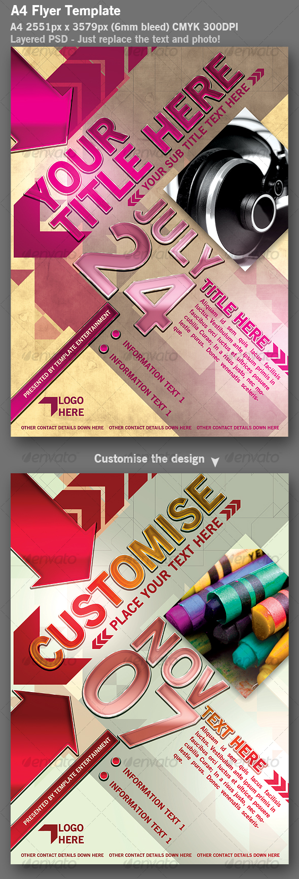 GraphicRiver Flyer Template 113634