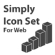 Simply Icon Set (for Web) - GraphicRiver Item for Sale
