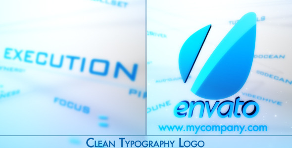 After Effects Project - VideoHive Clean Corporate Typography Logo 3229360