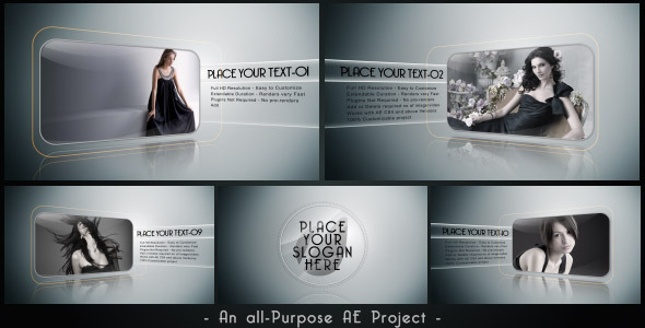 After Effects Project - VideoHive Clean Show A Simple Presentation 3201272