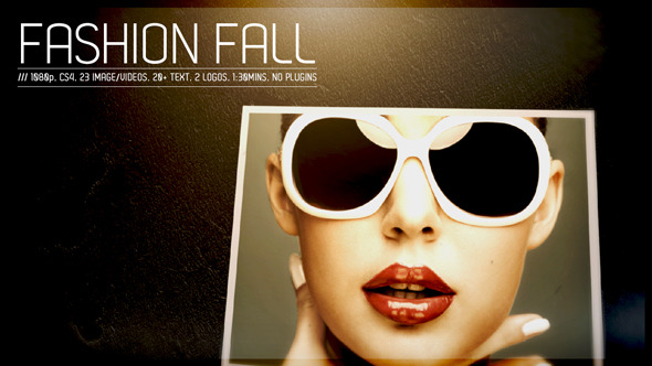 VideoHive Fashion Fall 3229632