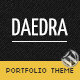 Daedra - Responsive Wordpress Portfolio Theme - ThemeForest Item for Sale