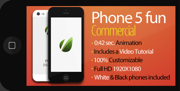 After Effects Project - VideoHive Phone 5 Fun Commercial 3206072