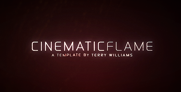 After Effects Project - VideoHive Cinematic Flame 3229980