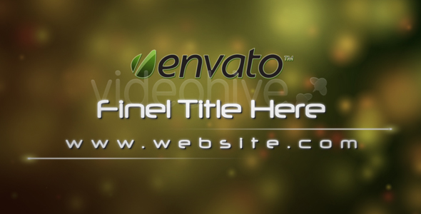 After Effects Project - VideoHive Your Dream Scene 113877