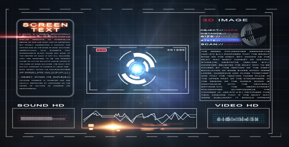 After Effects Project - VideoHive Multi hi Tech Gadget Screen 113952