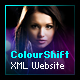 ColourShift XML Website Template - ActiveDen Item for Sale